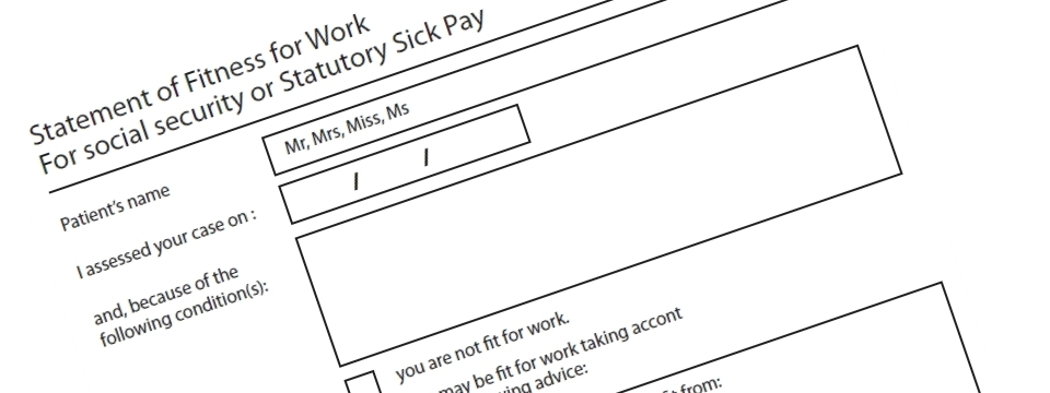 Fake Sick Note | Buy Fake Nhs Sick Notes | Fit To Work Certificate